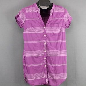 Columbia PFG Tunic Shirt Small Purple Womens